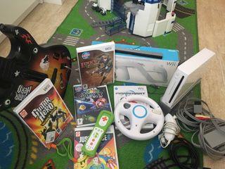 Consola WII con juegos