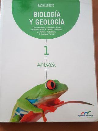 libro biología y geología bachillerato