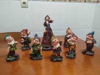 Figuras Blancanieves y los siete enanitos