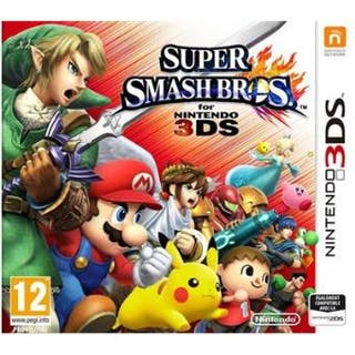 Super Mario Smash Bros 3ds