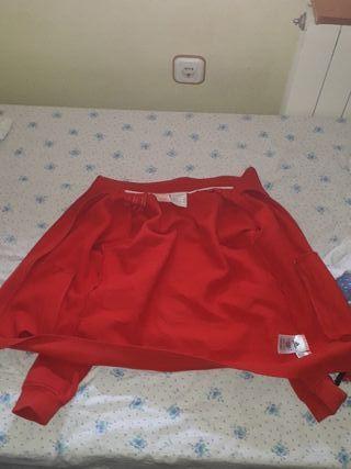 chaqueta adidas roja