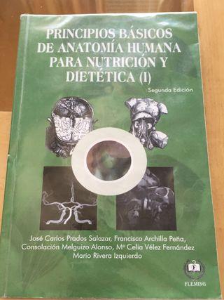 Libro Anatomía de Nutrición Humana y Dietética UGR