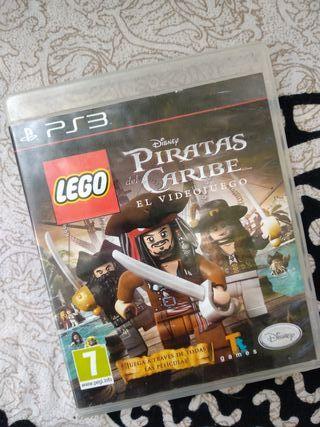 Juego PS3 Piratas del Caribe LEGO