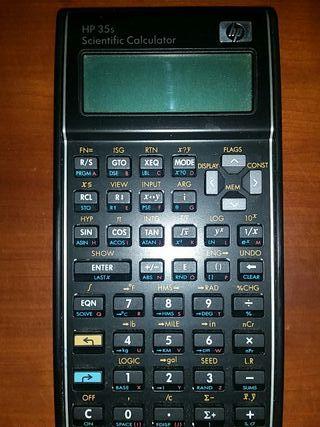 Calculadora Hp 35s Cientifica con funda ¡POCO USO!
