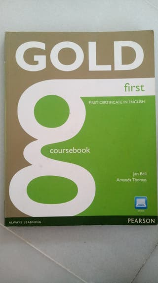 First certificate book Gold Pearson