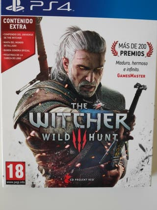 [Ps4]The witcher 3