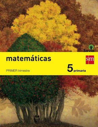 Libro de matemáticas sm SAVIA 5 PRIMARIA