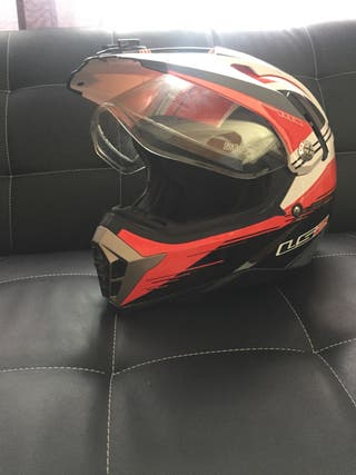 Casco moto trail adventure dual sport LS2