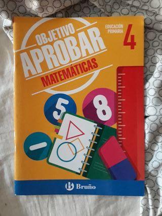 libro de matemáticas 4 primaria
