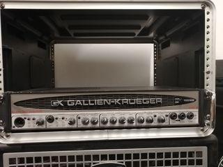 Cabezal y pantalla para bajo Gallien Krueger
