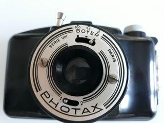 Antigua cámara de fotos