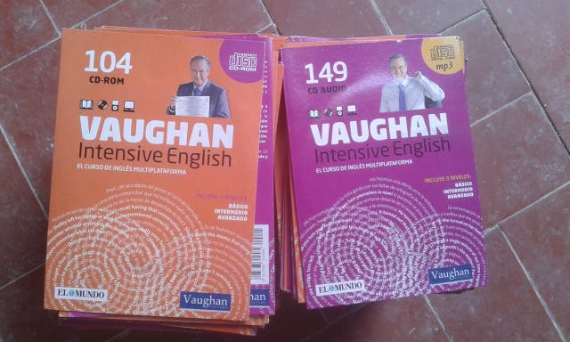 Libros de curso de ingles multiplataforma CD/mp3