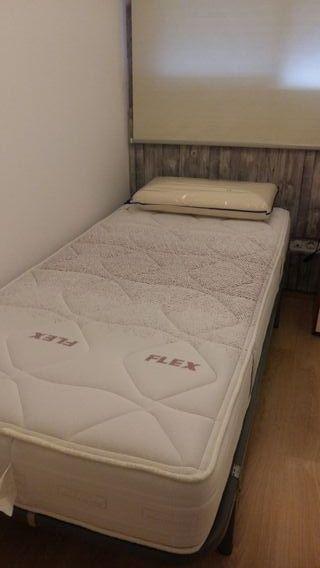 Colchon Flex Visco Air 90 x 190 cm y almohada
