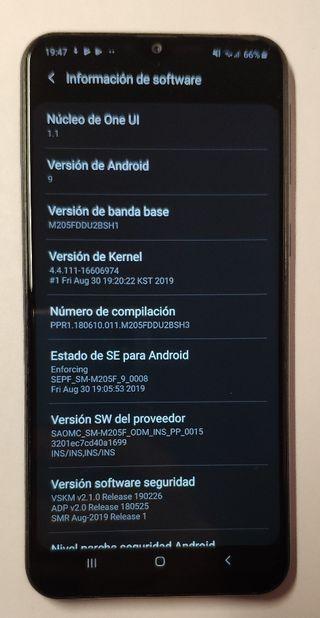 """Samsung Galaxy M20 usado 3Gb RAM 32Gb ROM 6.3"""""""