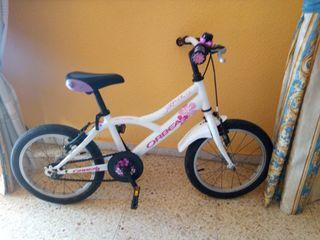 """bicicleta niña Orbea 16"""""""