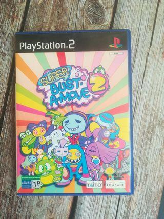 Super Bust a move 2 para la PlayStation 2
