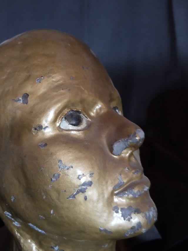 busto antiguo plomo