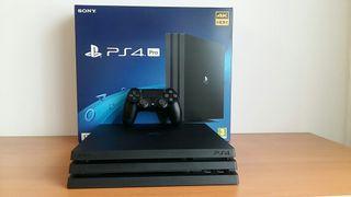Playstation 4 PRO 1TB y 10 Juegos (PS4 Pro)