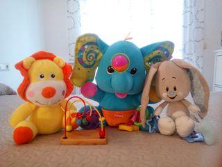 Elefante Playskool, León, conejo, y laberinto