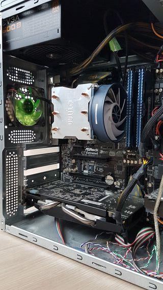 Se vende potente PC i7 3770, 8gb RAM, GTX 550ti
