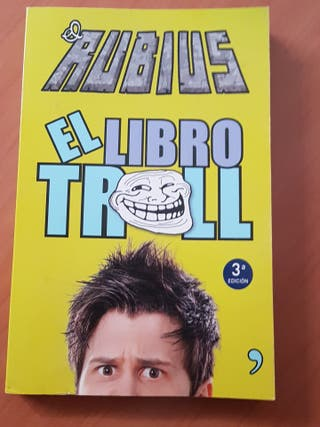 ElRubius libro troll