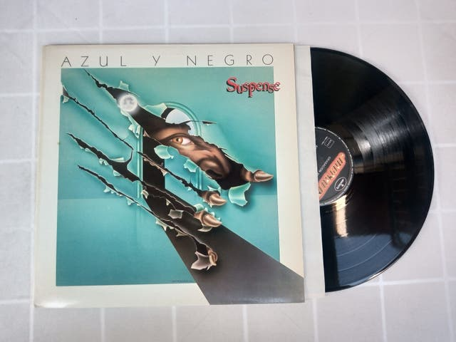 Vinilo LP AZUL Y NEGRO SUSPENSE