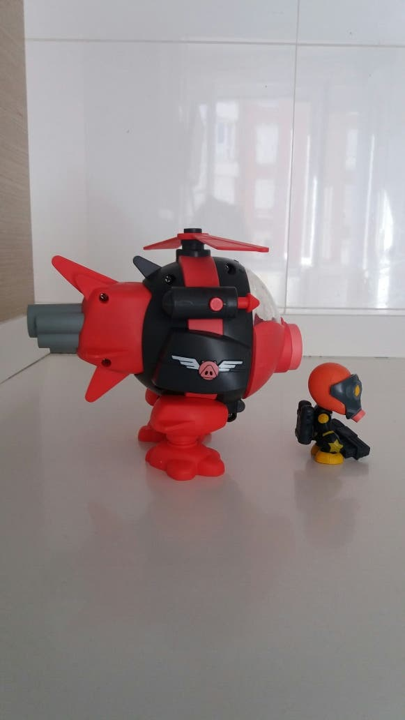 Mutant Buster Helicoptero