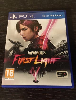Juego INFAMOUS FIRST LIGHT Playstation 4 (PS4)