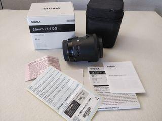 Sigma 35mm F1.4 DG Art para Canon