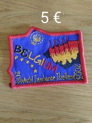 insignia scout / scouts Bélgica
