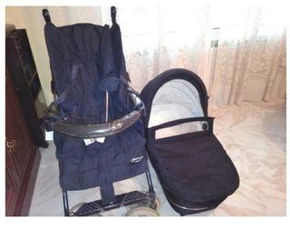 carro, silla y capazo bebecar