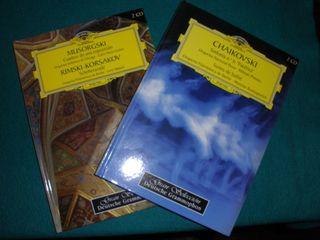 Coleccion musica clasica en Cd y libros