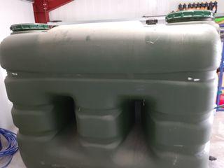 Depósito de agua de 3000 L