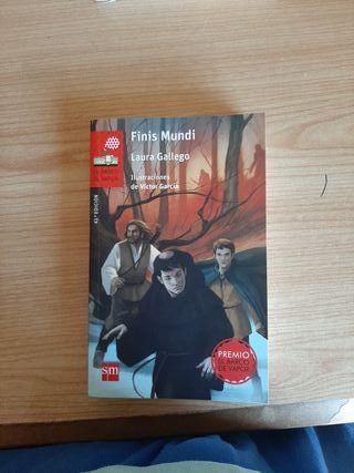 Finis Mundi, Laura Gallego, Ed. Barco de vapor,
