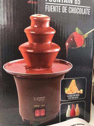 Fuente chocolate, queso o salsa a estrenar 65W