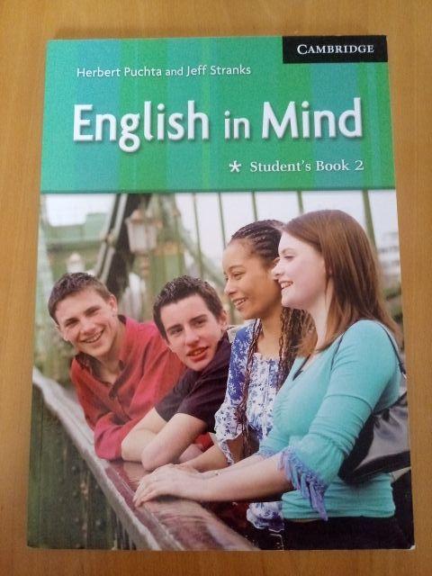 Libro de inglés Cambrige B1 English in Mind