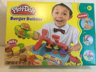 Play-Doh Burger builder