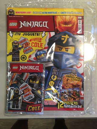 Revista Lego Ninjago octubre 2019