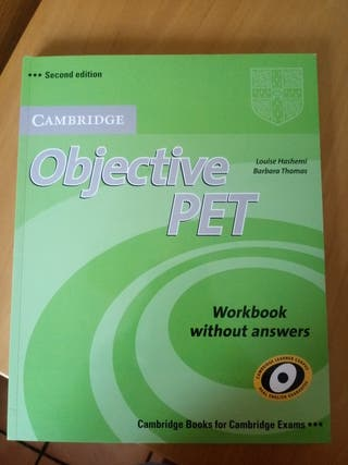 Objective Pet Workbook Cambrige