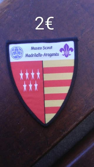 insignia museo scout / scouts