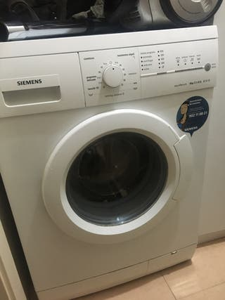 Lavadora Siemens 6kg