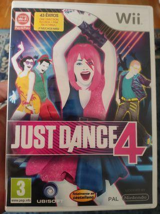 SE VENDE JUST DANCE 4 (WII)