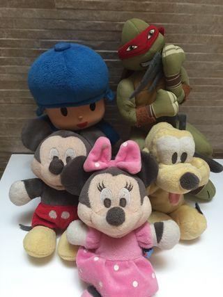 Peluche Disney original todo 10€