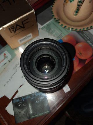 objetivos cámara analogica