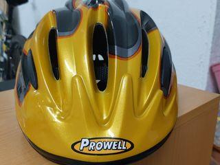 casco bicicleta junior