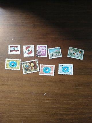 sellos de Líbano