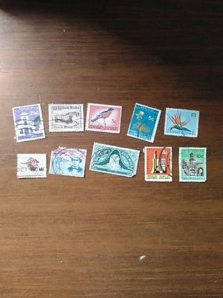 sellos de Sudáfrica