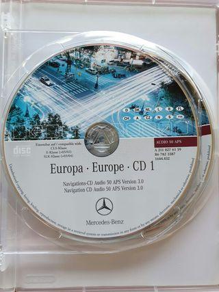 CD navegador Mercedes