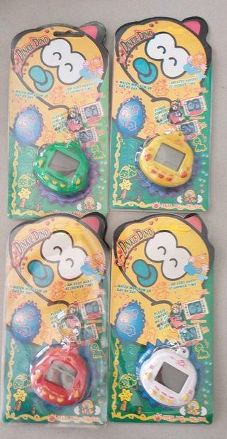 Lote 4 uds. Tamagotchi mascota virtual