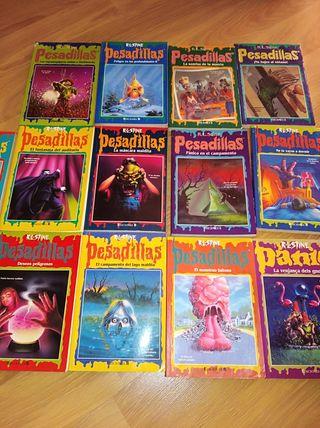 libros pesadillas 13 und x 15 e